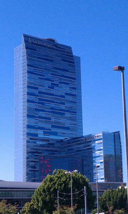 Ritz Carlton Residences 900 W Olympic Los Angeles Ca