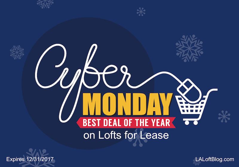 lofts for lease cyber monday sale on rentals in downtown los angeles la loft blog. Black Bedroom Furniture Sets. Home Design Ideas
